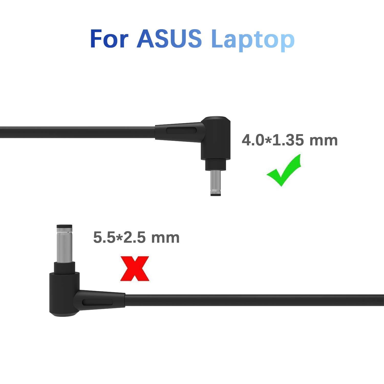45W Notebook Laptop Adaptador de Cargador de CA Cable de ...