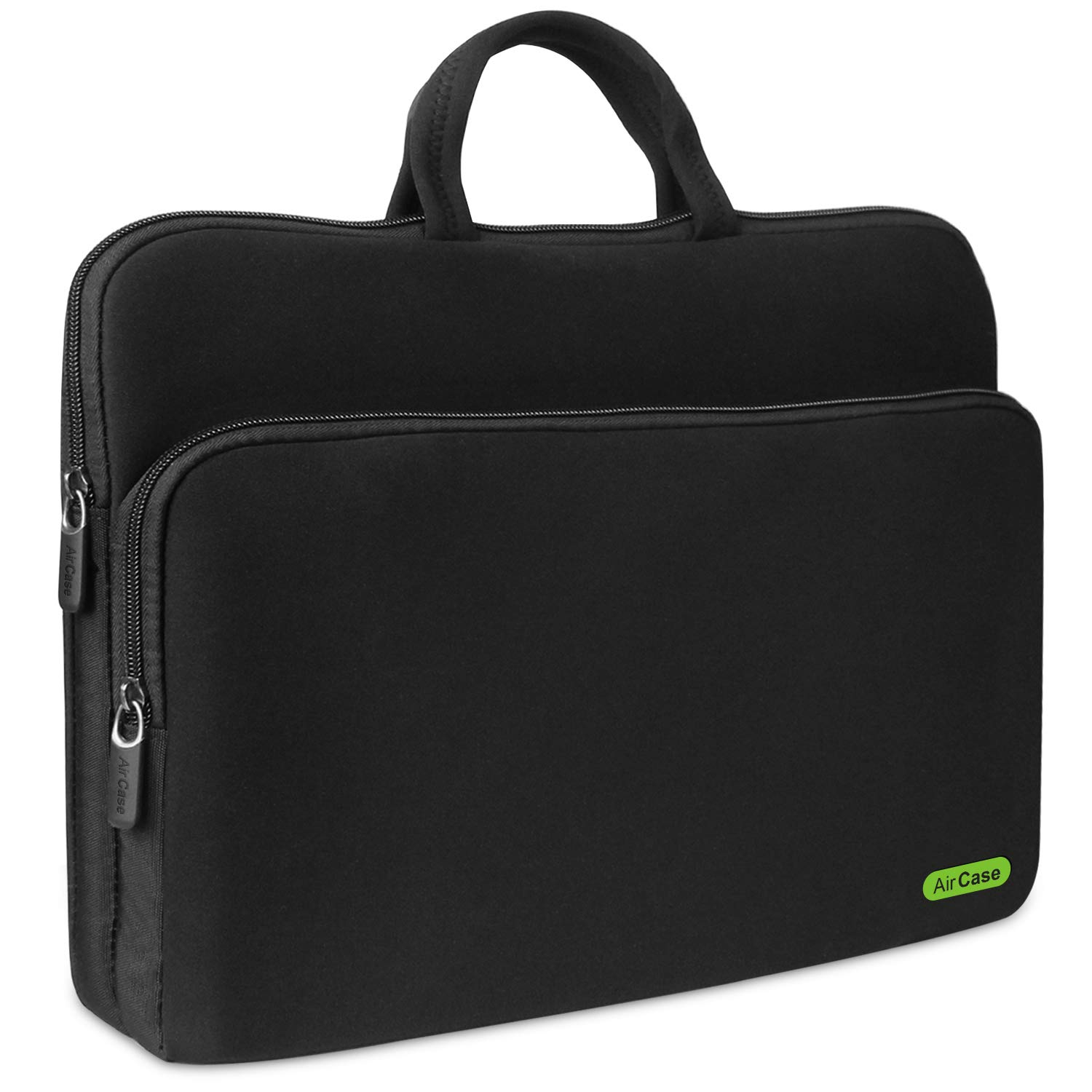AirCase C50 Laptop Bag Sleeve Case Cover for 15.6 Inch Laptop MacBook, Protective, Neoprene (Black) product image