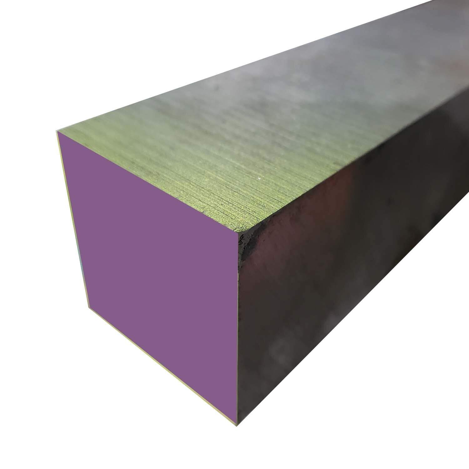 Online Metal Supply 8620 Hot Rolled Steel Plate, 4-1/2'' x 4-1/2'' x 8'' by Online Metal Supply