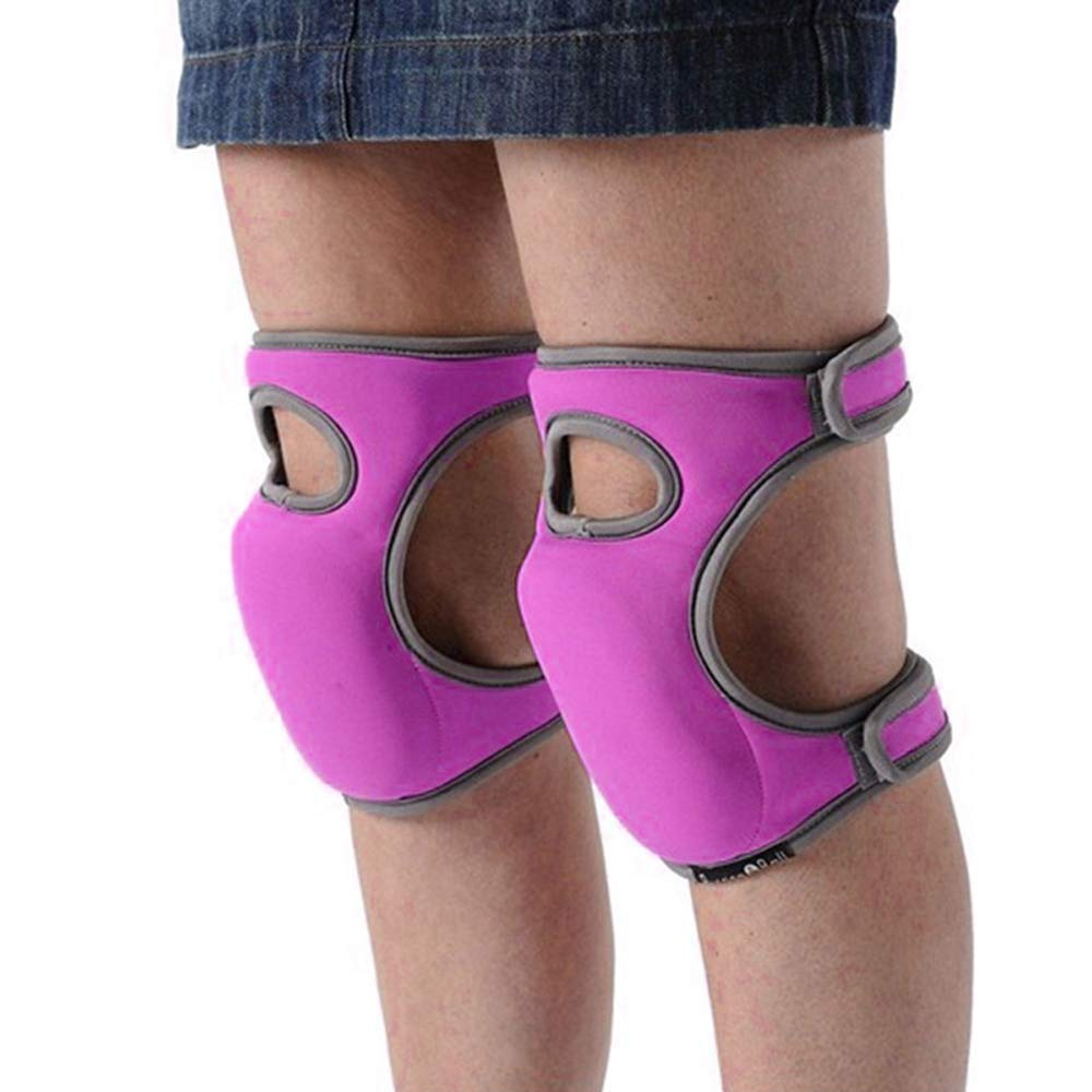 Green Toyfun Knee Pads for Gardening Cleaning Knee Pads for Work Knee Pads for Scrubbing Floors Memory Foam Knee Pads
