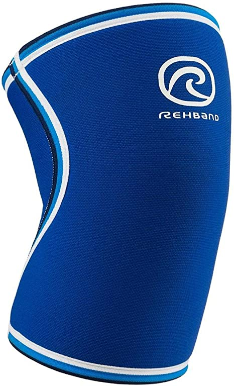 33-36cm Model 7051 Original Blue Medium Rehband 7mm Knee Sleeve