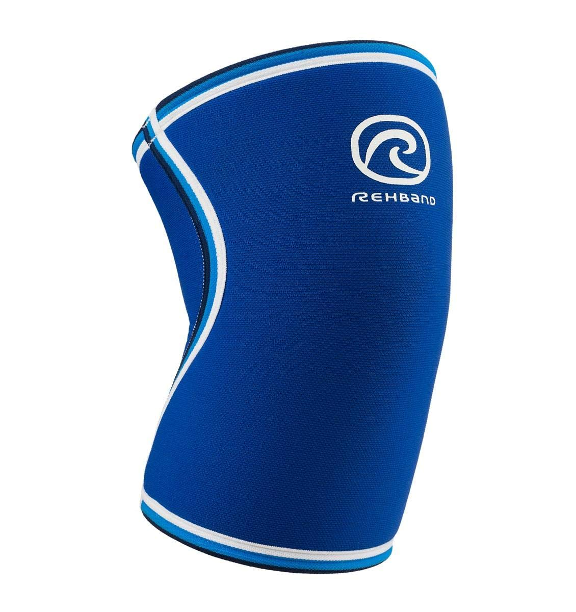 2c3ce3212c Rehband Blue Line Knee Support 7084 7mm - Medium - Expand Movement & Cross  Training Potential