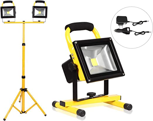 30W Foco Proyector LED, Trípode para Proyectores, Portátiles ...