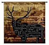 Fine Art Tapestries ''Nature's Calling'' Wall Tapestry