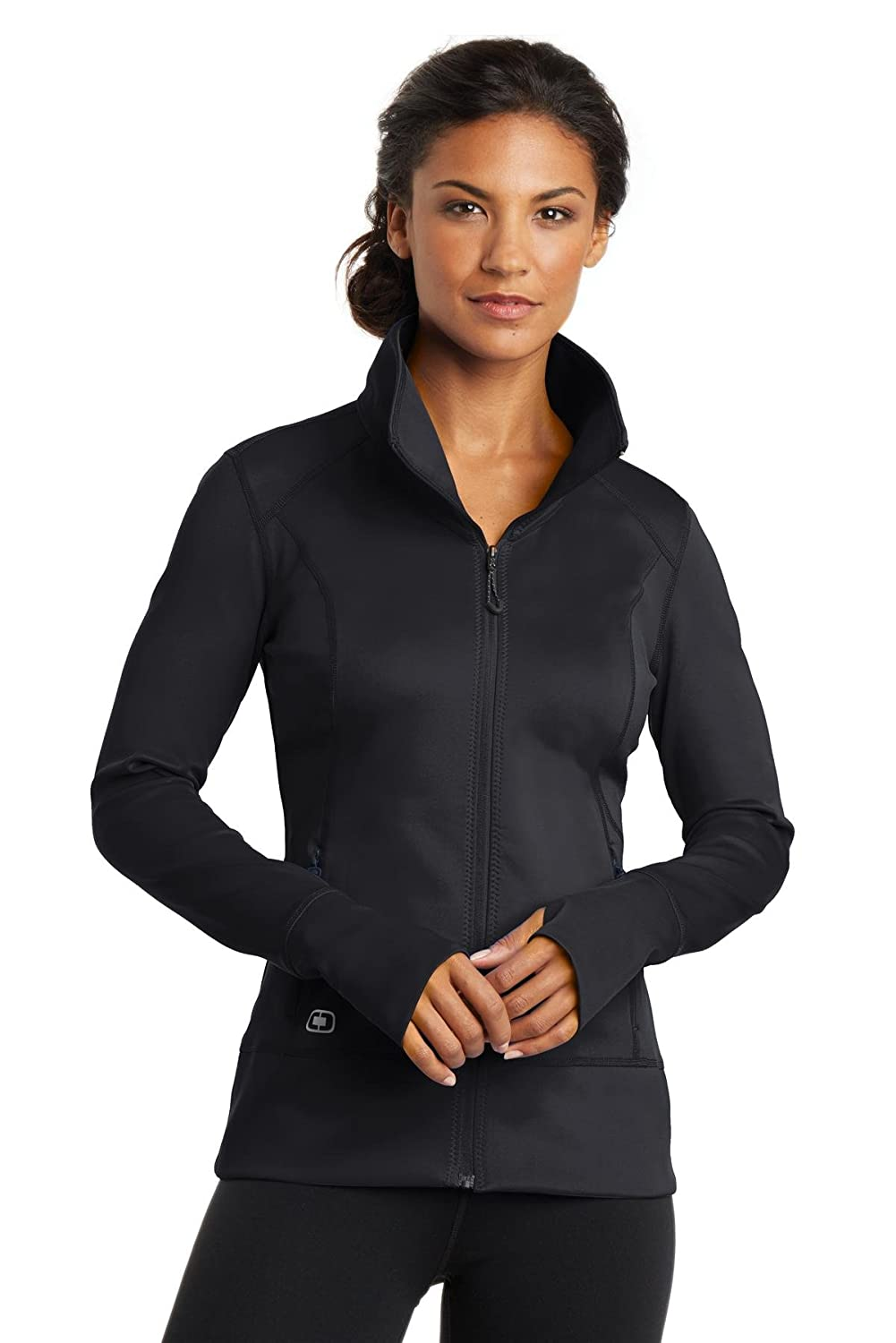 Blacktop Ogio ENDURANCE  Ladies Fulcrum FullZip