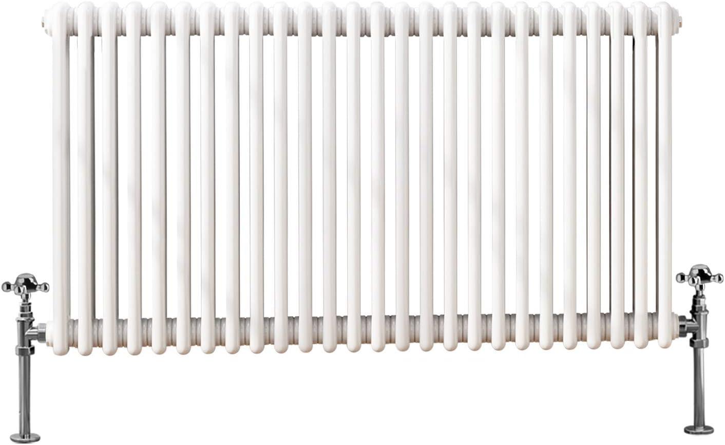NRG 300x1460 Cast Iron Horizontal Radiator Anthracite 2 Column Central Heating Rads