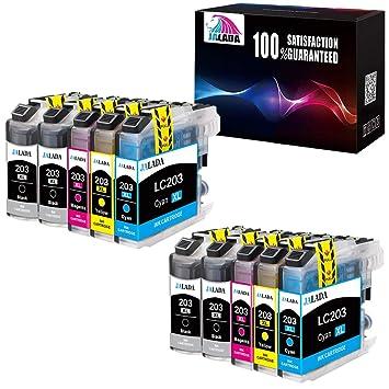 Jalada - Cartuchos de tinta compatibles con Brother LC203 LC 203XL ...