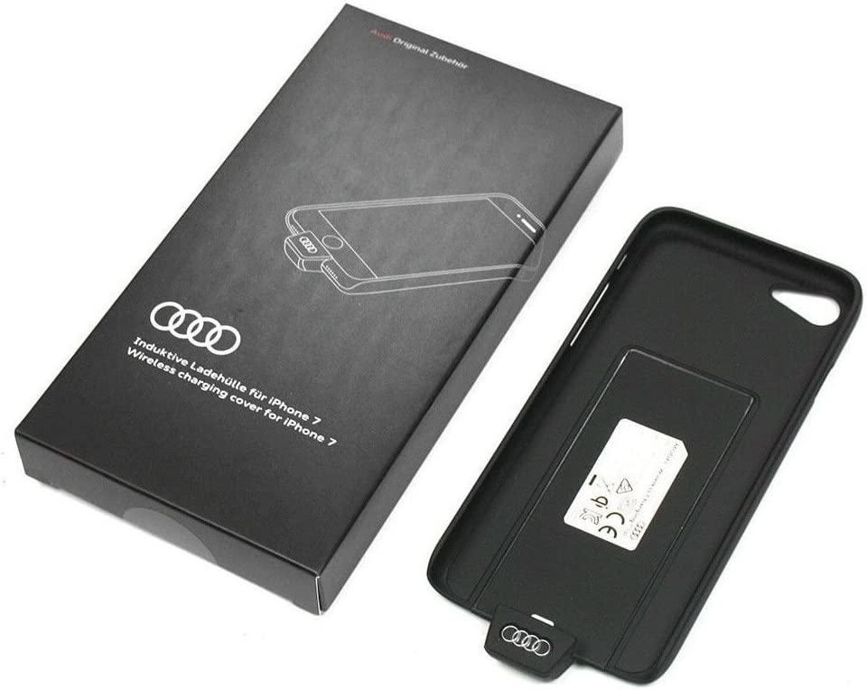 Audi EP-PG900IB –  – Carcasa Cargador Wireless Charging Cover Carcasa iPhone 7