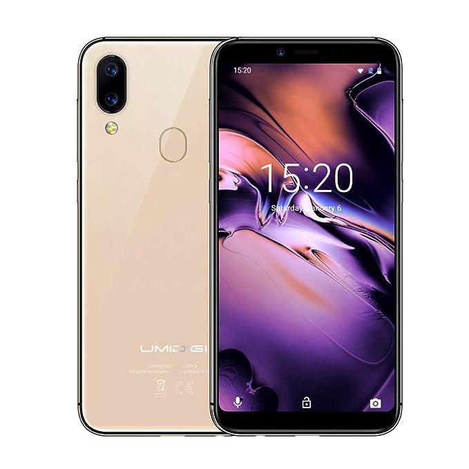 """100 opinioni per UMIDIGI A3 Smartphone, 5.5"""" 4G LTE Telefono Cellulari Sbloccato, 18:9 Android"""