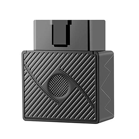 TOOGOO Mini OBD GPS Rastreador Localizador de Tiempo Real Rastreador de vehiculos gsm/GPRS para
