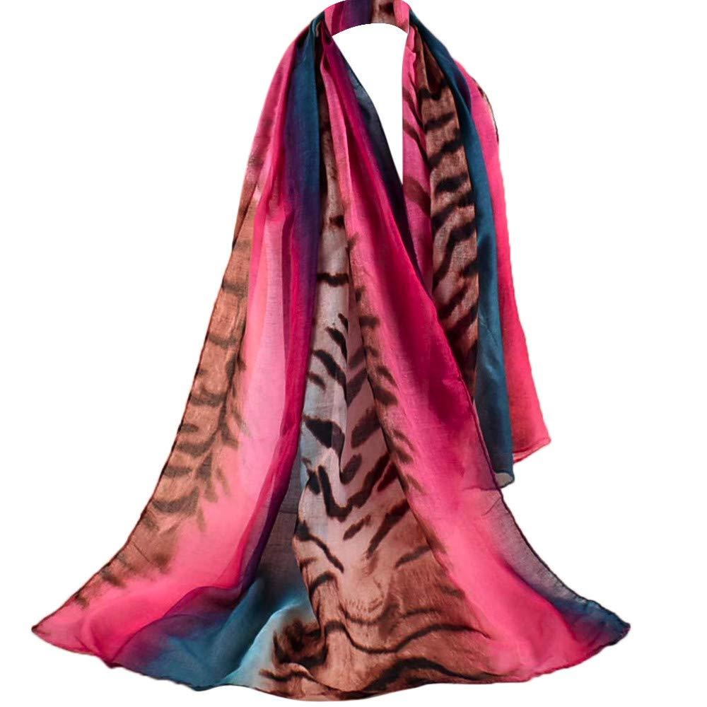 Bufanda Para Bufandas De Mujer Las Señoras De Las Mujeres Imprimen El Mantón Suave Impreso Envuelve Bufandas Largas De La Bufanda