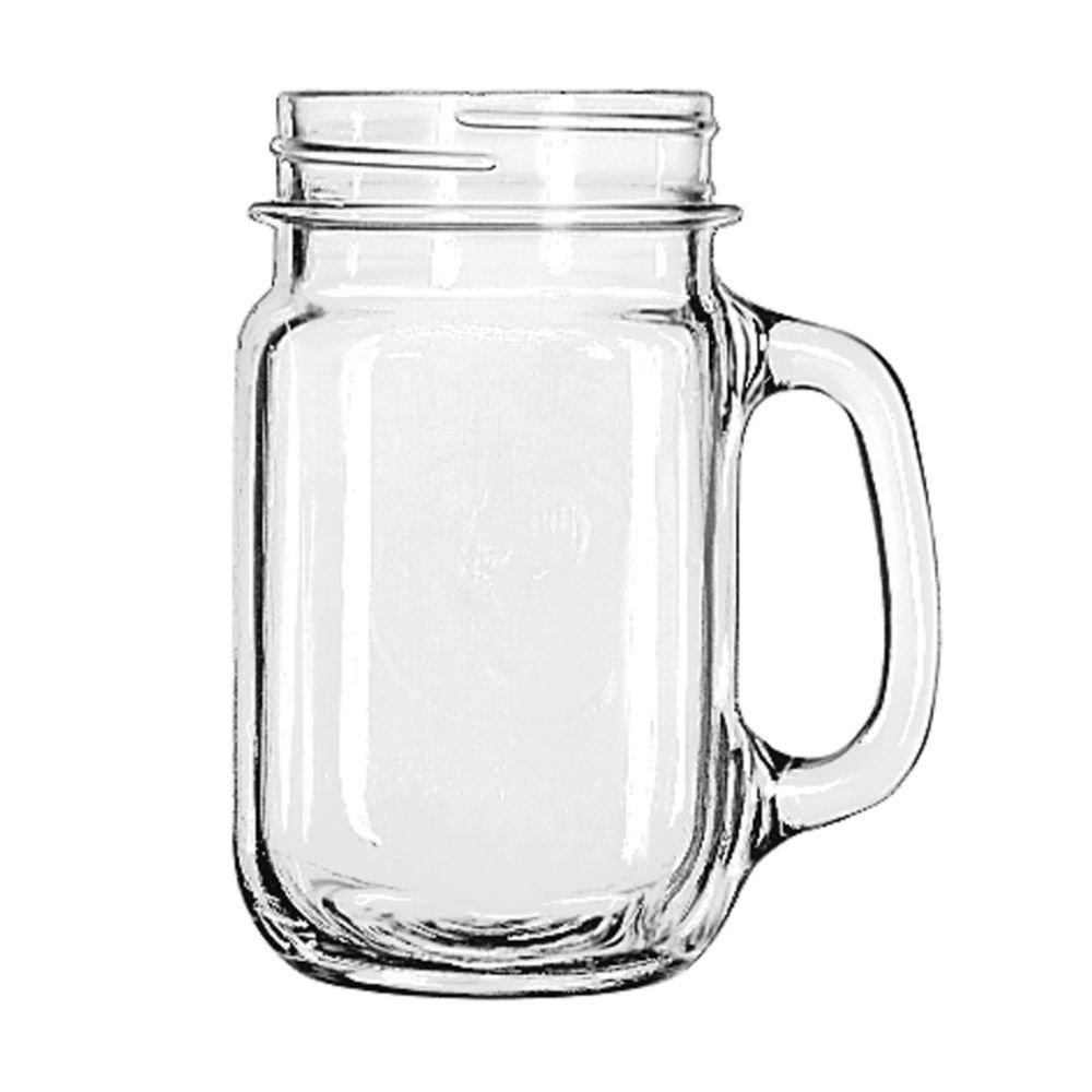 Libby Drinking Jar Plain 97084 16 oz 1 dozen