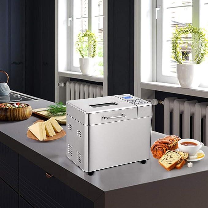 Máquina de pan automática con 19 programas, BestComfort 2 L ...