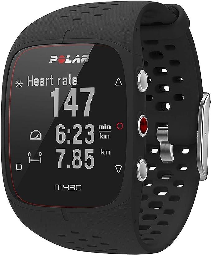 Relógio Polar M430 Multidesporto com GPS e Frequência Cardíaca Preto