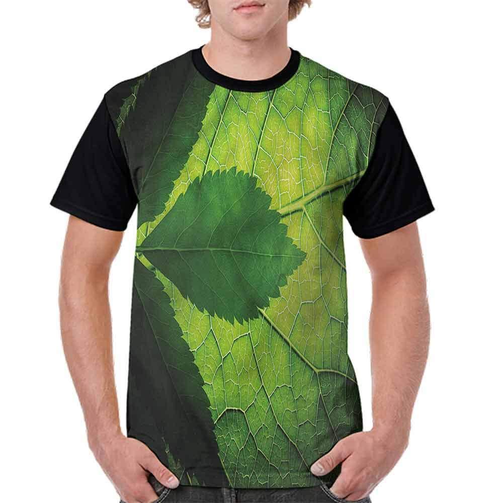 Classic T-Shirt,Brazilian Tree Leaf Eco Fashion Personality Customization
