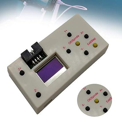 GRBL Offline-Controller Hand Teile Offline-Controller Graviermaschine f/ür CNC 3018 2418 1610