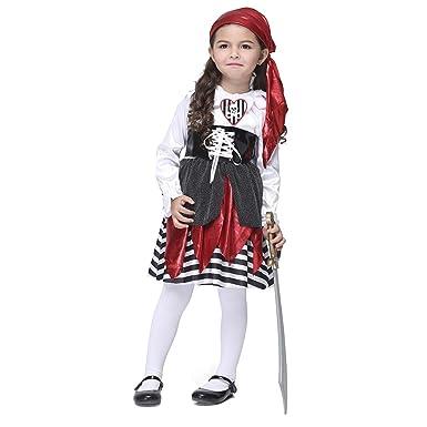 Dr.mama Disfraz Cosplay de Infantil Ropa de Ladrones de Mar para ...
