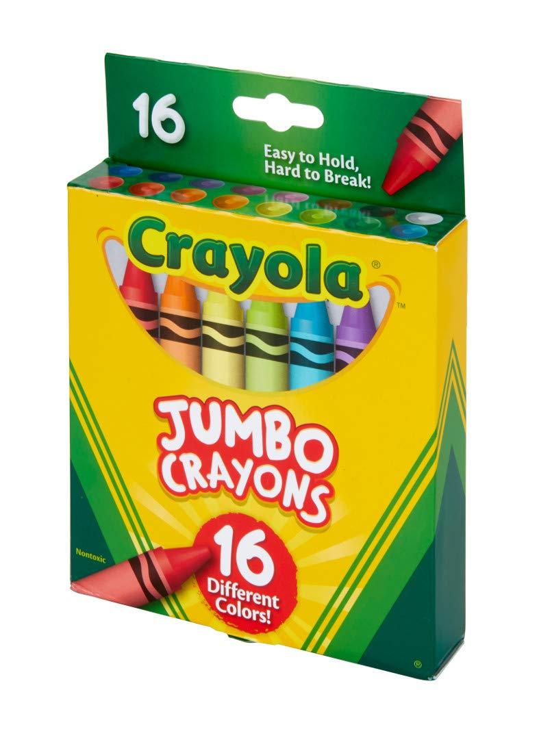 Crayola Jumbo Crayons 16Count, Multicolor by Crayola (Image #4)