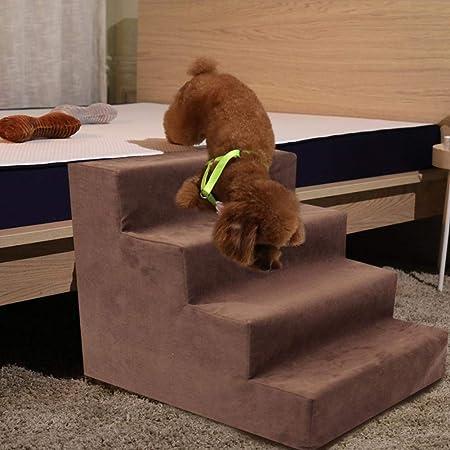 iBellete escaleras para Perro, escaleras para Mascotas, Escalera para Mascotas, Escalera cómoda, fácil extracción y Lavable a máquina: Amazon.es: Hogar