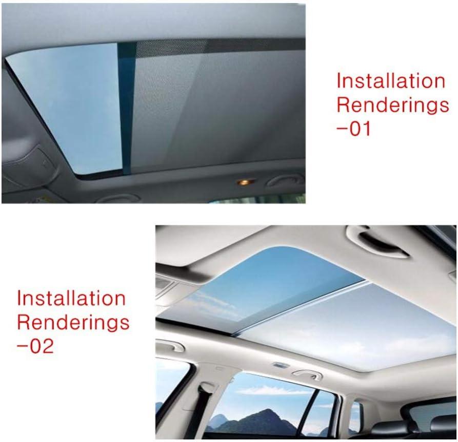 Beige Ymiko Tenda per finestrino dellauto Tenda Parasole per Tetto apribile Tende per lucernario Compatibile con Sharan Tiguan Q5 1K9877307A