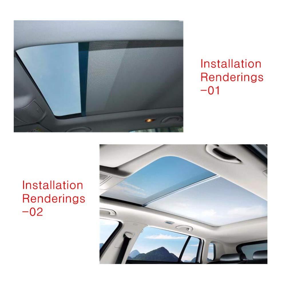 Sunroof Car Sunshade Curtains Skylight Shutter 1K9877307A 5ND877307 Car Styling for VW Sharan Volkswagen Tiguan for Audi Q5
