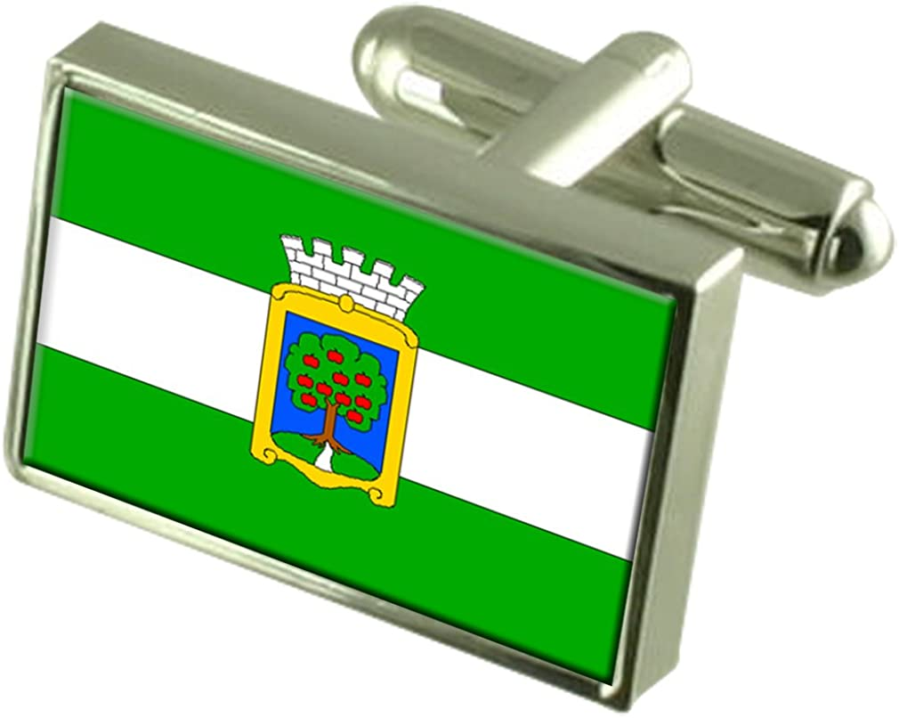 Select Gifts Jablonec Nad Nisou City Czech Republic Flag Cufflinks Tie Clip Box Gift Set