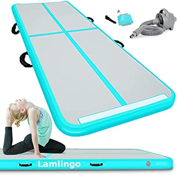 pompe 4 M 5 M 6 M Air Track Plancher Gonflable airtrack gymnastique Tumbling Home Tapis