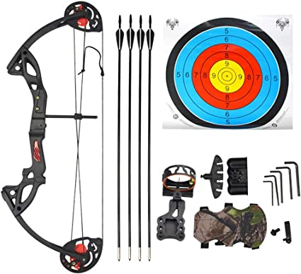 Armguard BEST Youth Archery Compound Bow for Children w// Sights Arrow /& More