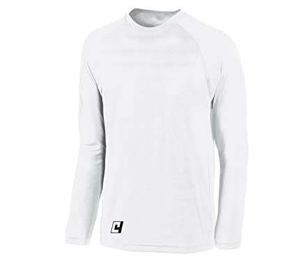 23ce104f Code Four Athletics Basketball Shooting Shirt, Long Sleeve - Without  Customization - Color White -