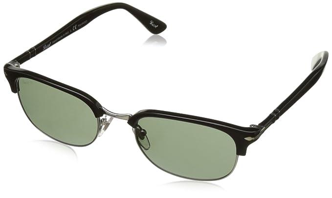 Persol 0Po8139S 95/58 55 Gafas de Sol, Negro (Black/Green ...