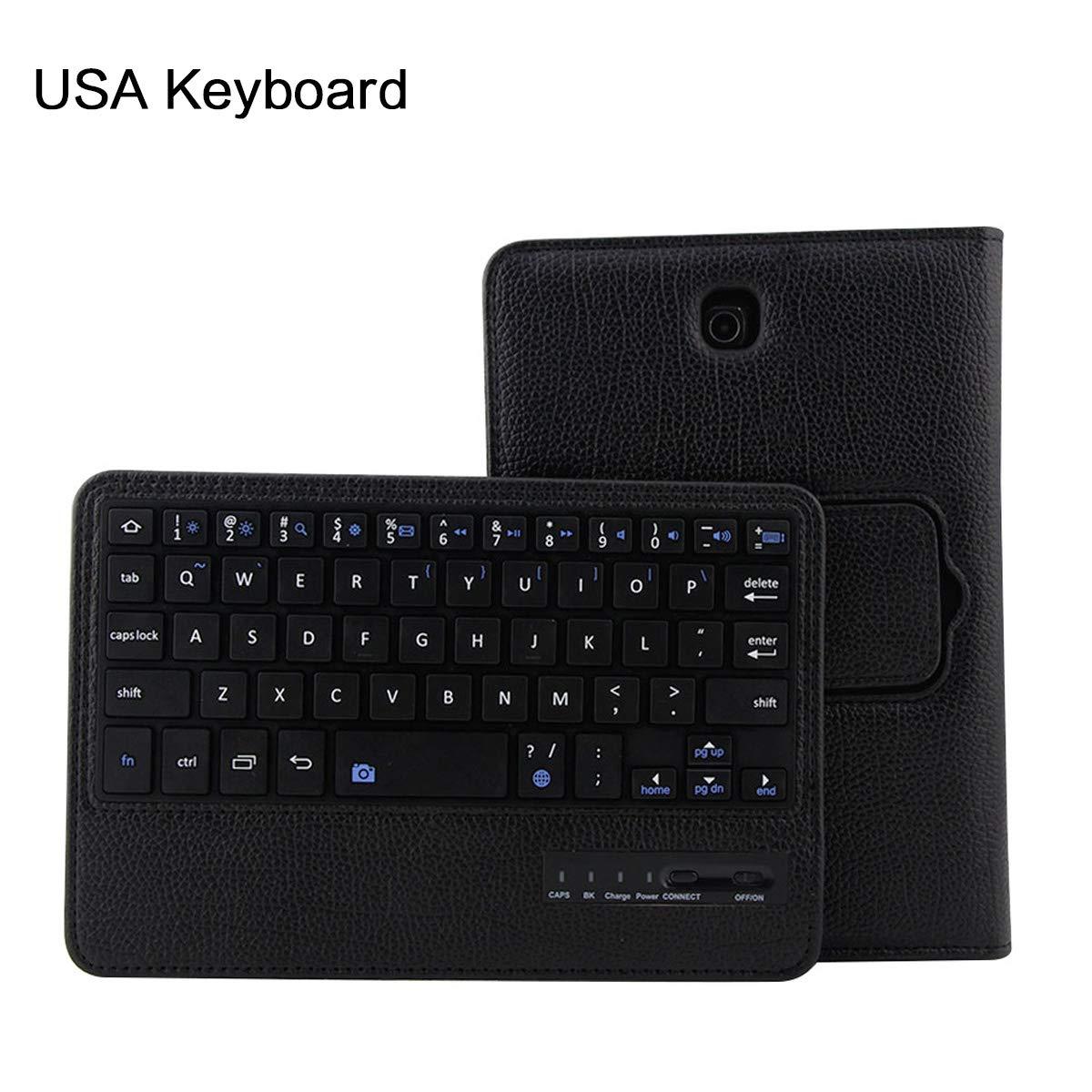大人気の Samsung Galaxy 取り外し可能 Tab S2 8.0 T710 (ピンク) キーボードケース S2 BasicStock 超薄型 PUレザー 充電式 取り外し可能 フリップ PC タブレットケース ワイヤレス US キーボードカバー Samsung Galaxy Tab S2 8.0 T710用 (ピンク) ブラック 6400-71-998 ブラック B07KW7QN4S, AFTBS:4ed521a6 --- a0267596.xsph.ru