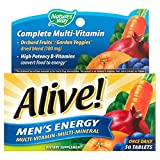 Nature's Way Alive Men's 50 Plus Multivitamin and Mineral Tablets, 50 Count (2 Packs)