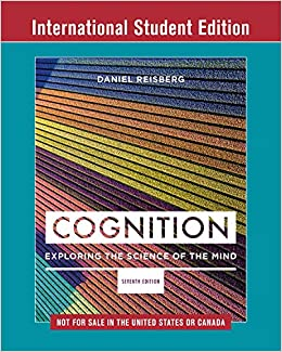 Daniel Reisberg - Cognition: Exploring The Science Of The Mind