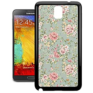 Bumper Phone Case For Samsung Galaxy Note 3 - Pastel Floral Wallpaper Lightweight Cover