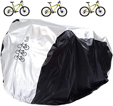 Large Heavy Duty Waterproof Bicycle Bike Cycle Cover Rain Dust Snow Protector