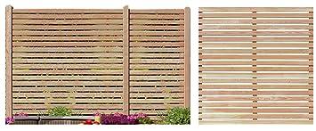 Gartenpirat Sichtschutzzaun 180x180 Cm Aus Larchenholz Bausatz