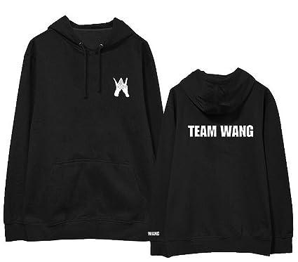 Kpop got7 Jackson Team Wang Same Printing Fleece/Thin Pullover Hoodies for i got7 Autumn