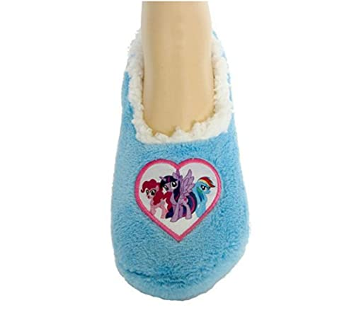 639f83e8f5f Image Unavailable. Image not available for. Color  My Little Pony Toddler  Little Girls  Fuzzy Slipper Socks ...