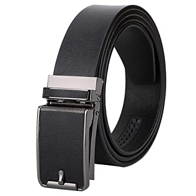 Cinturón Hombre Cuero Marrón Negro, Largo 110-125 Cm, Cintura 38 ...