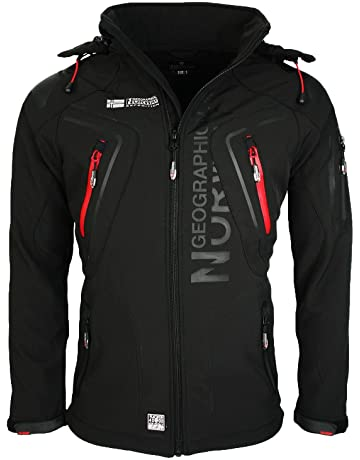 Geographical Norway Hombre Softshell Funciones Chaqueta Para Exterior  impermeable dba66ae081c7d