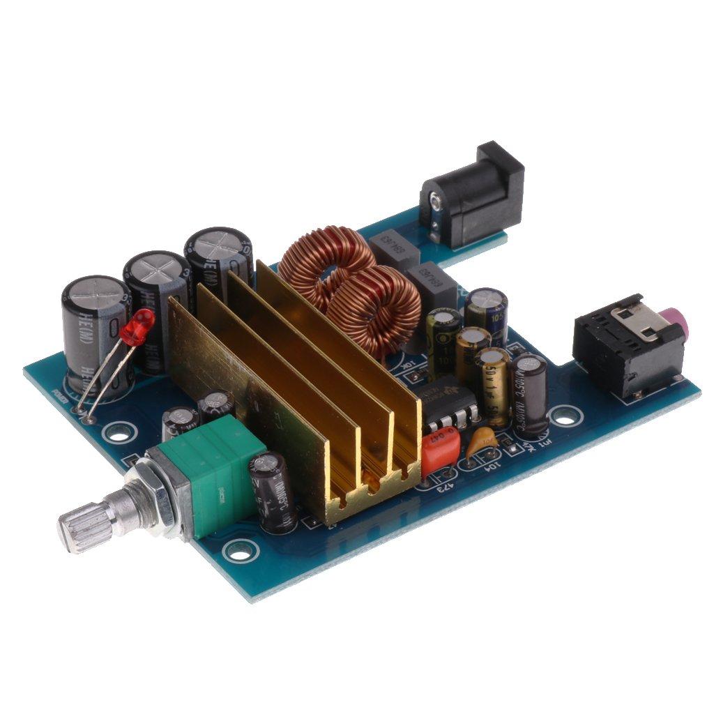 MagiDeal 1x TPA3116 DC 8-25V 100W Digital Bass Subwoofer Power Amplifier Board
