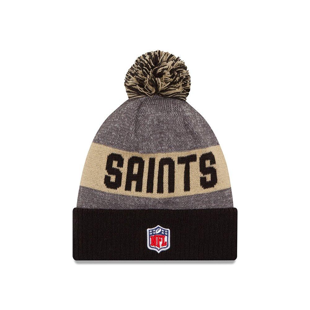 f9b64e40cdf Amazon.com  New Orleans Saints NFL Winter Sport knit hat  Clothing
