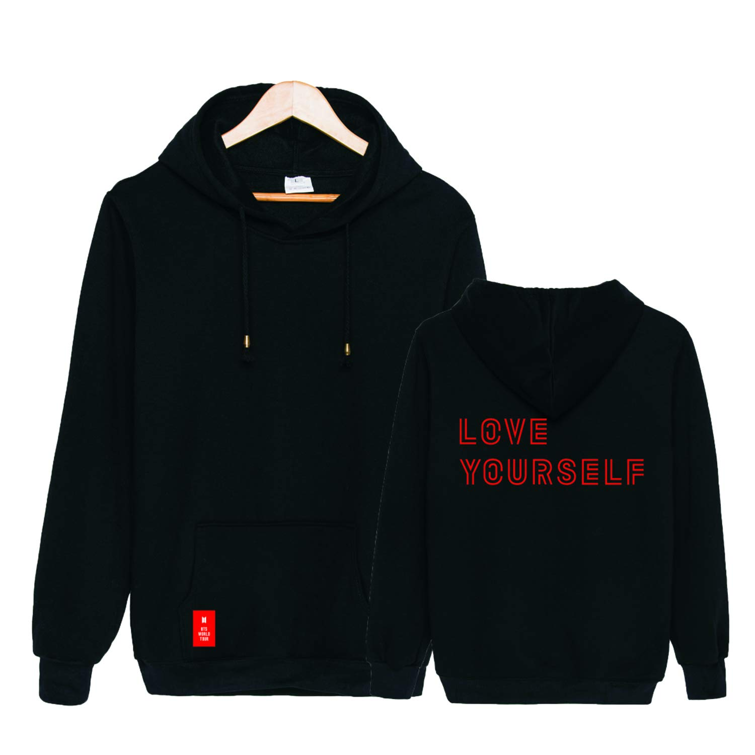 Xllife Kpop BTS Love Yourself World Tour Same Hoodie Suga V Jimin Jacket Sweater