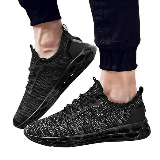 e6c323cd1b0df Amazon.com: kaifongfu Running Shoes Men's Sport Breathable Sneaker ...