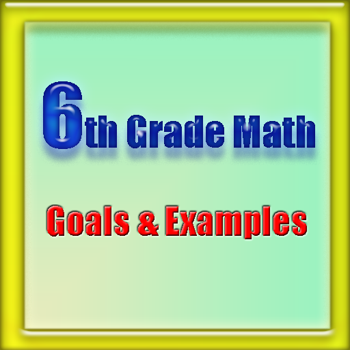 6th Grade Math  (for Kindle, Tablet & Phone)