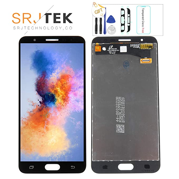 05635af882 Srjtek for Samsung Galaxy J7 Prime Screen Replacement LCD Display Touch  Digitizer Glass Sensor G610 G6100
