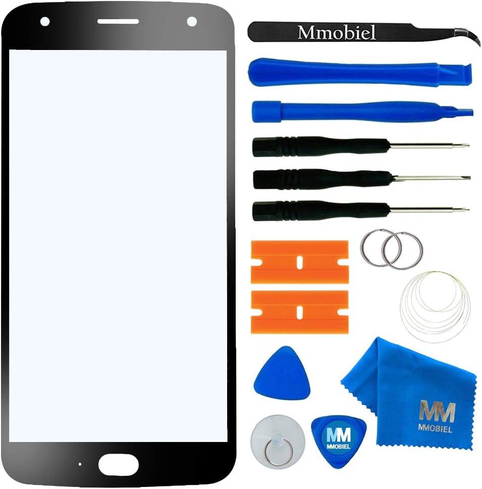 MMOBIEL Front Glass Repair kit Compatible with Motorola Moto X4 2017 XT1900 5.2 inch (Super Black) Display incl Tools