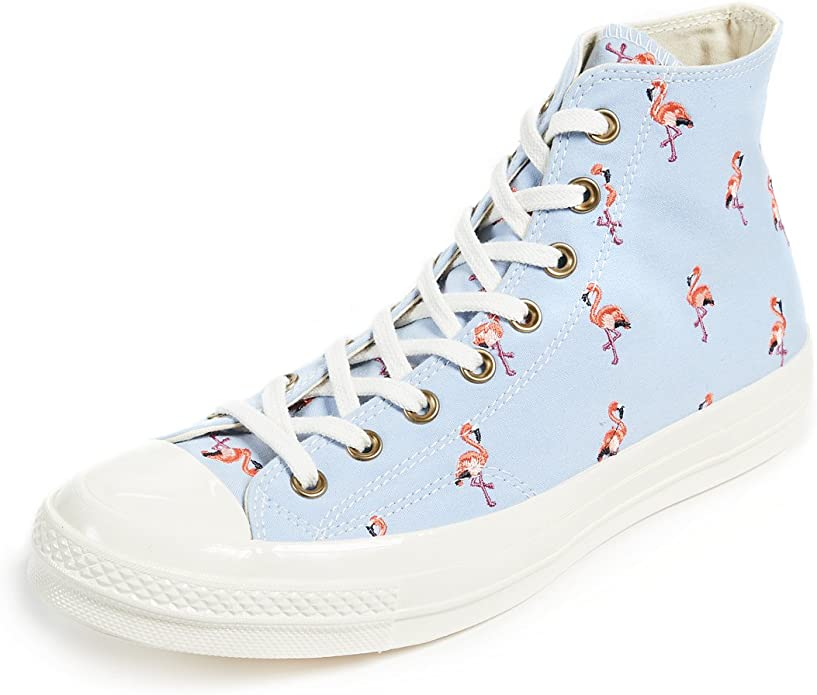 Converse Men's Chuck Taylor All Star Sneakers with Flamingo Embroidery
