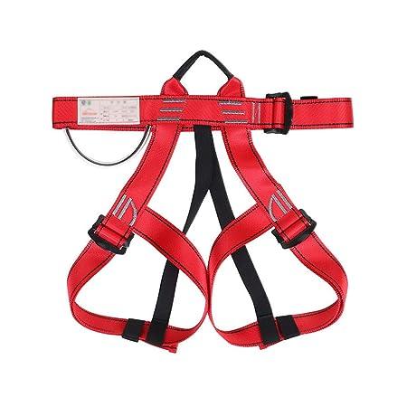 Arnés de Escalada, Cinturón de Seguridad para Hombre, Medio Cuerpo ...