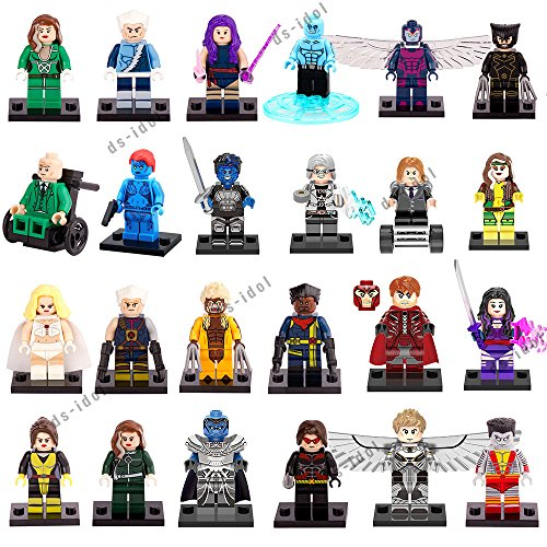 24Pcs MiniFigures Super Heroes Building Toys